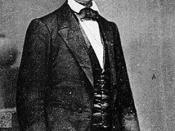 English: Abraham Lincoln - Photo taken in Feb. 1860 by Mathew Brady.