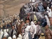 The Sermon of the Beatitudes (1886-96) by James Tissot from the series The Life of Christ, Brooklyn Museum