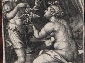 Georg Pencz: Jason und Medea, 1539