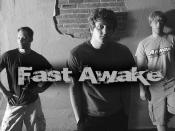 English: The pop punk band Fast Awake