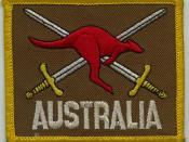 Australian Army Patch - UNTAC