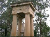 Boer War Memorial in Parramatta Park