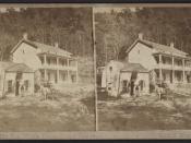 Rip Van Winkle House, Sleepy Hollow, Catskill Mts. N.Y, by H. S. Fifield