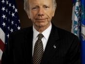 Joe Lieberman, official photo.