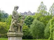 Genius Of Architecture Statue, Princes Street Gardens