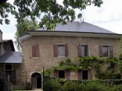 The house where Jean-Jacques Rousseau lived with Mme de Warens in 1735-6. Now a museum dedicated to Rousseau.