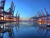 CTB-CTW Container Terminal Burchardkai, Port of Hamburg-Waltershof
