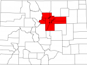 English: Denver Regional Council of Governments planning area