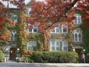 Stone Row dormitories built in the 1880s - Bard College