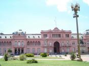 The Casa Rosada, seat of the Argentine Executive Branch of Government