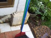broom stick in Indonesia