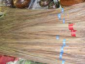English: Coconut stick broom