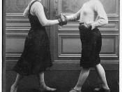 Fraulein Kussin & Mrs. Edwards  (LOC)