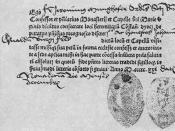 A Roman Catholic indulgence from the year 1521