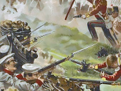English: Russo-British skirmish during Crimean War