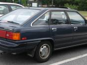 1986 Toyota Camry photographed in USA. Category:Toyota Camry (V10) Category:Blue fastbacks