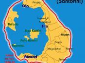 1500 BC volcano that destroyed Atlantis