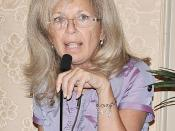 English: Dr. Maria Theodoulou, attending physician, Breast Cancer Medicine Service at Memorial Sloan-Kettering Cancer Center and a professor at Cornell University in New York City spoke at the Breast Cancer Awareness luncheon Oct. 9 at the San Antonio Cou