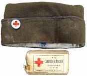 Ernest Hemingway's WWI paramedic cap.