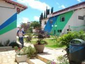 English: A private school courtyard in Brazil. (O pátio da minha escola)