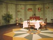 A Photograph of the Set for