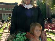 Jackie graduates