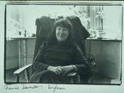 Portriat of Denise Levertov