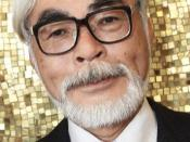 English: A close-up photo of famous japanese animator Hayao Miyazaki. 日本語: 宮崎 駿