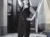 English: Fearless Nadia in the Indian movie 11 O'Clock (1948). Basant Pictures.