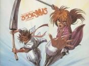 Cover of Rurouni Kenshin OST 1.