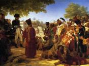 Pierre-Narcisse Guérin Napoleon Pardoning the Rebels at Cairo