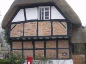 English: Rural perfection The sort of perfect rural retreat that appeals to many. But what cost replacing that thatch?