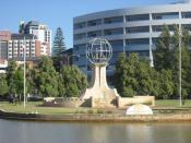 English: Migrants Memorial, Ozone Reserve, Perth, Western Australia
