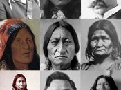 English: Collage of Lakota people from various public domain sources.