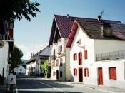 English: Ernest Hemingway's house Español: Descripción: Casa de Burguete, Navarra, España, en la que se hospedó Ernest Hemingway.