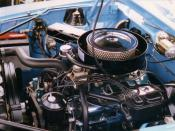 1970 American Motors Corporation (AMC) Javelin 390 CID (6.4 L) engine with factory