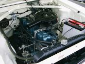 199 straight 6 engine by American Motors Corporation (AMC) in a 1968 Rambler American.