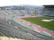 Español: Vista del Estadio de Gran Canaria el 7 de septiembre de 2008.