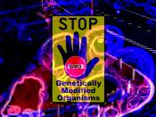 Stop genetically modified organism(s) - GMO. Read comments!