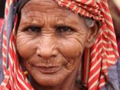 English: Habiba Adan Salat, a Somali woman in Dolow, on the Somalia-Ethiopia border.
