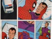 The death of Harry Osborn.