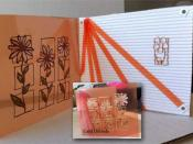 Acetate Card with Outlines Stickers