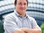 English: Linus Torvalds, creator of the Linux kernel. Deutsch: Linus Torvalds, Schöpfer des Linux Kernels. Suomi: Linus Torvalds, Linux-ytimen kehittäjä. Français : Linus Torvalds, créateur du noyau Linux. Italiano: Linus Torvalds, l'ideatore del kernel L