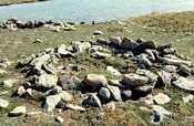 Thule Site (Copper Inuit) near Cambridge Bay (Victoria Island)
