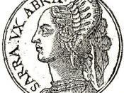 English: Sara was the wife of Abraham and the mother of Ishmaelas described in the Hebrew Bible and the Quran.