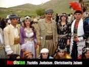 Kurdistan  .Yazidis  .Judaism . Christianity .Islam