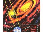English: Satellites in Earth orbit. Solar Galaxy Русский: ИСЗ на околоземной орбите. Солнечная галактика
