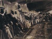 Druze leaders meeting in Jebel al-Druze, Syria, 1926