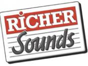 English: Richer Sounds original logo