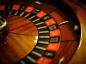 Wheel of fortune. Shot wide open using 50mm/f1.4 @ISO2800